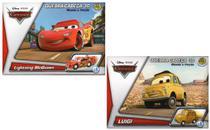 2 Disney Quebra Cabeça 3D Movido a Fricção  McQueen +  Luigi - Dtc