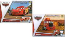 2 Disney Quebra Cabeça 3D Movido a Fricção McQueen + Mack - Dtc