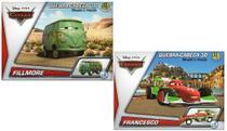 2 Disney Quebra Cabeça3D Movido a Fricção Fillmore+Francesco - Dtc