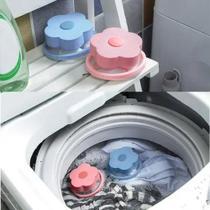 2 Filtros Coletor de Pelos Para Lava Roupas Maquina Lavar Limpeza - CLONE - Clink