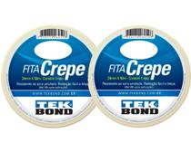 2 Fita Crepe 24x50 Mts - Tek Bond -