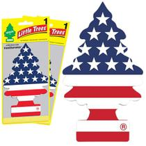 2 Little Trees Aromatizante Cheirinho Carro 100% USA PRIDE - Gastaki