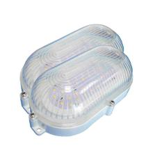 2 Luminárias Arandelas Tartaruga Branca de LEDs SMD - DNI 6200 - Key west