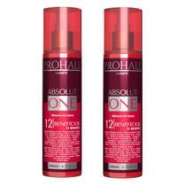 2 Máscaras Spray Absolut One 12 Benefícios Prohall -