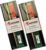 2 Módulos de Memória RAM DDR3 8GB PARA DESKTOP 1333 MHz PC3-10600 CL9 240 Pinos LONG-DIMM - Keepdata