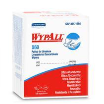 2 Pacotes Panos Wypall Limpeza Multiuso X60 C/ 100un Banho - Kimberly Clark
