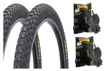 2 Pneu 20 X 2.125 Pirelli Scorpion + 2 Camara Pirelli Aro 20 -