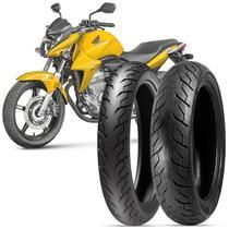 2 Pneu Moto CB 300 R Levorin by Michelin Aro 17 110/70-17 54h M/C 140/70-17 66h M/C Matrix Sport -