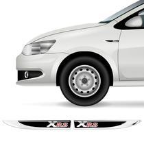 2 Protetores Paralama Corolla Xrs Black Aplique Resinado - Sportinox
