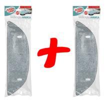 2 refil vassoura mágica microfibra flaslimp - Flash Limp