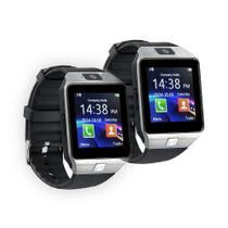 2 Relógios Bluetooth Smartwatch DZ09 Super Premium - Smart watch