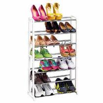2 Sapateiras  para até 21 pares de Sapatos em Aço Cromada Arthi -