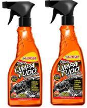 2 Super Limpador Limpa Tudo Luxcar 500 Ml -