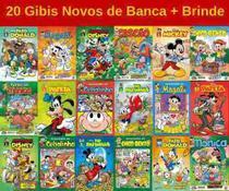 20 Gibi Hq Disney Turma Da Mônica Novo Lacrado Sem Repetição -
