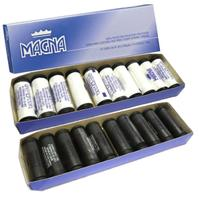 20 Linha Costura Branco Preto Magna Coats Corrente 4100100 -