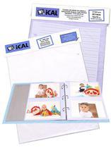 20 Refil De Álbum Para 80 Fotos 10x15 Cm (para Álbum Ferragem) - Ical