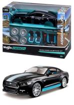 2015 Ford Mustang GT - Kit em Metal p/ Montar - Assembly Line - 1/24 - Maisto -
