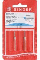 2025-14 agulha dupla singer cartela com 2 un. 3mm n.14 -