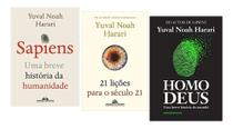 21 Lições Para O Século 21 + Sapiens + Homo Deus Yuval Noah - Várias Editoras