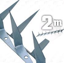2m Lança Dupla para muro espeto cortante 2mm - 02 metros - JJ