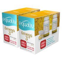 2un Equaliv Omega 3 1000mg Pack 180 Cápsulas Leve + Pague - -