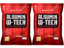 2x Albumin W-tech 500g Albumina Com Whey Protein - Bodyaction -
