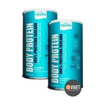 2x Body Protein Equaliv 450g 100% Proteína Isolada -