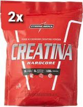 2x CREATINA HARDCORE  1kg (2 kg)  Integral Médica - Integralmedica
