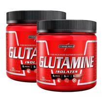 2x Glutamine Isolates Natural 300g Integralmedica - Integralmédica