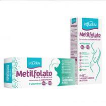 2x-L-Metilfolato de Cálcio-30 Caps.-355mcg-Equaliv-+B12 e B6 -