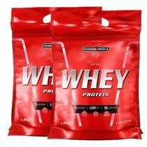 2x Nutri Whey Protein 1,8kg Refil Integralmedica - Integralmédica