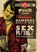 2x Punk - Punk Rock - Live Show - Ramones Berlim 1978 - Sex Pistols San Francisco - Sm