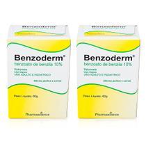 2x sabonete benzoderm benzoato de benzila elimina piolhos lêndeas sarnas coceiras 60g  pharmascience - Pharma Science