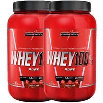 2x Whey 100% Pure 907g Integralmedica - Integralmédica