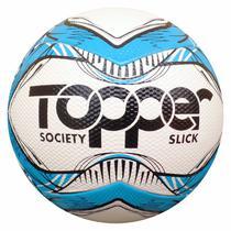 3 Bola Futebol Society Topper Slick Original Oficial -