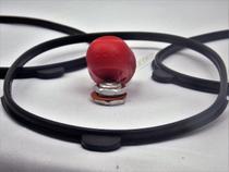 3 Borracha Panela Pressão Compatível Clock Control 4,5lts + Peso E Selo - Guamatec