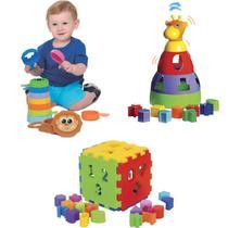3 Brinquedos Educativos para Bebês - Mercotoys