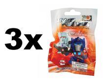 3 Coleção Transformers Sachê Surpresa - Dtc