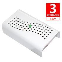 3 Desumidificador Antimofo Eletrônico Anti Ácaro E Fungos - Capte