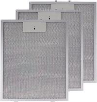 3 Filtros de alumínio para coifas Falmec 90cm medida 27,5cm por 30cm -