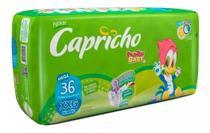 3 Fralda Capricho Revenda Tamanho XXG 36 un. - Capricho Pica Pau