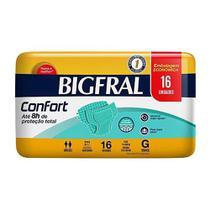 3 Fraldas Adulto Descartável Bigfral Confort G 16unid. -