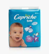 3 Fraldas Capricho Atacado P Com 96 unid - Capricho Baby Plus