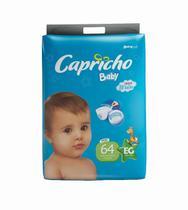 3 Fraldas Capricho Barato XG Com 64 unidades Cada Pacote - Capricho Baby Plus
