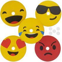 3 Kit Emoticon humor com 5 peças - Tecnomidia