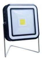 3 Luminarias Led Solar 10w Quadrado Cob Portátil Recar. L - Led center comp