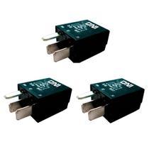 3 Mini Relés Auxiliares - 12V - 30A - DNI 0125 -