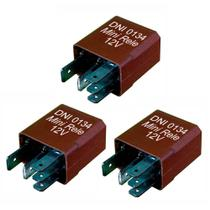 3 Mini Relés Auxiliares - 12V - 40/30A - DNI 0134 -