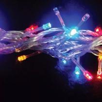 3 Pisca Pisca De Led Colorido Natal 8 Funções 200 Lâmpadas - Master