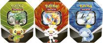 3 Pokemon Latas Parceiros Galar Cinderace-Inteleon-Rillaboom - Combo